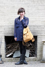 Black-durango-boots-tawny-baggu-bag-navy-american-apparel-blouse