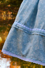 Light-blue-lolita-handmade-rabbit-heart-shop-skirt-black-an-tai-na-shoes