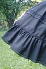 Black-lolita-rabbit-heart-shop-skirt
