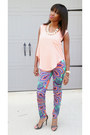 Bubble-gum-nira-boutique-top-aquamarine-jealous-tomato-pants