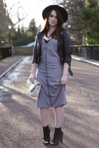 heather gray midi dress Missguided dress