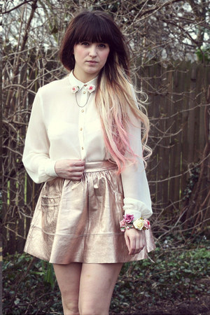 rose bracelet Roses and Clementines bracelet - white Topshop shirt