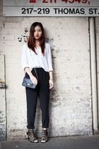 PROENZA SCHOULER bag - Zara heels - asos pants