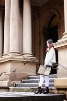 Zara sweater - asos boots - boyfriend jeans Style Societe jeans