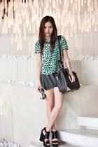 Market HQ top - Alexander Wang bag - Market HQ skirt - tony bianco wedges