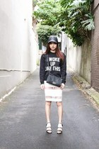 chanel boy Chanel bag - Private Party sweater - mesh Style Societe skirt