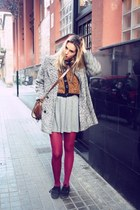 Primark tights - Vans shoes - Zara dress - vintage coat - vintage jacket