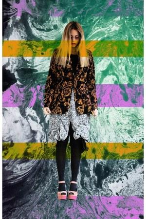 el corte ingles blazer - handmade skirt