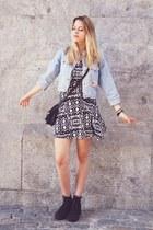 second hand jacket - Primark dress