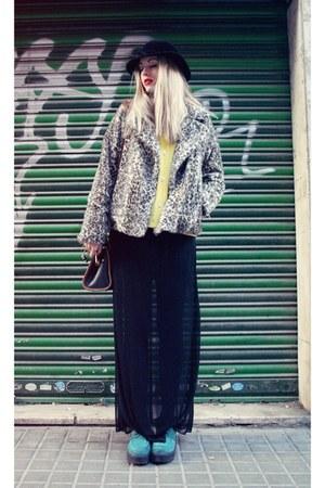 H&M shoes - Zara coat - Primark skirt