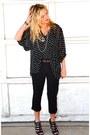Black-chiffon-minkpink-blouse-black-forever-21-pants-black-boutique-9-heels-
