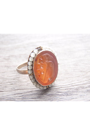 resin metal Rachel Marie Designs ring