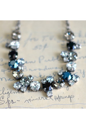 scatter crystal Rachel Marie Designs necklace