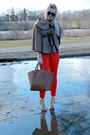 Camel-tbdress-coat-red-jcpenney-pants-beige-shoedazzle-heels