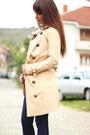 Eggshell-oasap-coat-beige-oasap-sweater-guess-bag