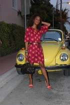 Tucker dress - Cole Hann bag - H&M heels - abercrombie and fitch belt