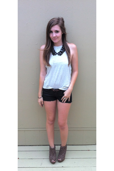 collar kate spade necklace - black Lucky Brand Jeans shorts