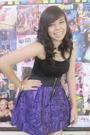 Black-people-are-people-top-purple-coeurclothing-skirt-pink-accessories-b