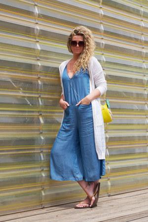 light blue Zara romper