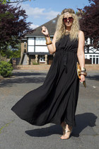 black greecian Sheinside dress