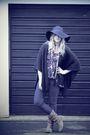 Black-matalan-blue-primark-jeans-black-h-m-hat-brown-asos-boots-gold-riv