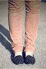 Camel-polka-dot-primark-sweater-bronze-primark-jeans