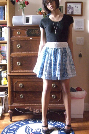 dress - Macys skirt - Walmart shoes - UO necklace