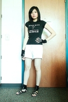xkcd t-shirt - Old Navy shorts - Aldo shoes - Claires accessories