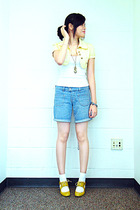 Bayo vest - Mossimo top - Old Navy shorts - Schu shoes - Charlotte Russe necklac