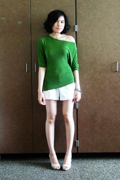 HIP Rockwell top - Old Navy shorts - Mossimo shoes - Glorietta Teen Zone bracele