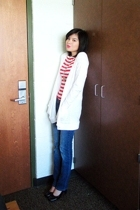 Mossimo sweater - forever 21 top - human jeans - thrifted shoes - Charlotte Russ