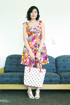JCpenney dress - payless shoes - Laoag accessories