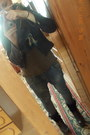 Boots-bershka-jeans-random-jacket-scarf-fishbone-blouse