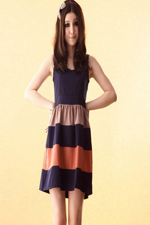 orange 365clothes dress