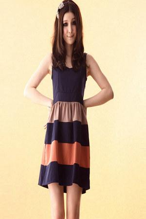 orange 365clothes dress