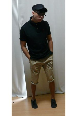 black Ralph Lauren shirt - pants - Zara shoes