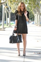 Souffl dress - Bershka shoes - BLANCO bag