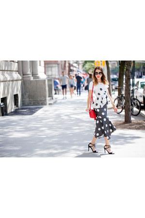 Gucci bag - Monica Arguedas dress