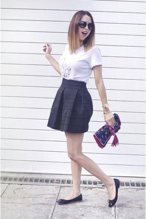 misxuta skirt - united colors of benetton flats
