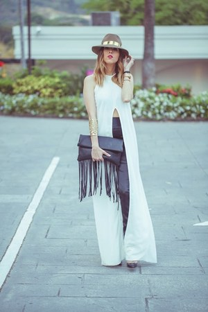 by souf hat - Monica Arguedas vest