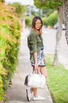 Jessica Simpson jacket - Zara shoes - Tom Ford sunglasses