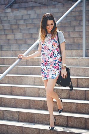 Siman dress - Christian Louboutin heels