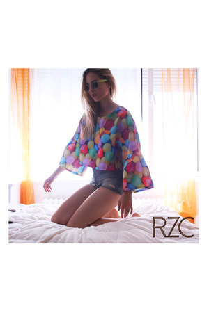 RZC top - Zara shorts
