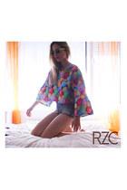 RZC top - Zara shorts