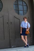 vintage blouse - vintage skirt - vintage accessories - vintage shoes