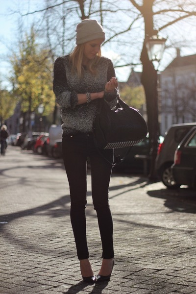 Charcoal-gray-h-m-trend-sweater-black-alexander-wang-bag-black-zara-pants