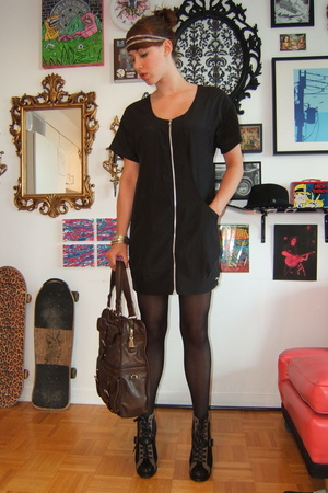 wilfred dress - Marc by Marc Jacobs - H&M - LAMB purse