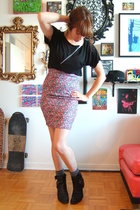 wilfred t-shirt - DIY skirt - thrifted