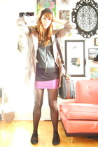 American Apparel - American Apparel - Mulberry purse - wilfred skirt - Jacob - U