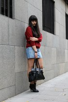 Shoe AQUARIUM boots - H&M skirt